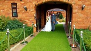 Artificial Grass for Weddings Hire In Milton Keynes